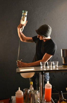hire a flair bartender in Wellington