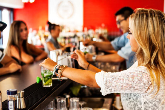 hire a cocktail bartender in Christchurch