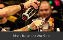 hire a bartender Auckland